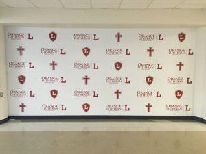 Fort Myers Church Signs custom wall vinyl step repeat mural 300x225