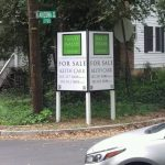 Fort Myers Real Estate Signs post panel outdoor real estate 150x150